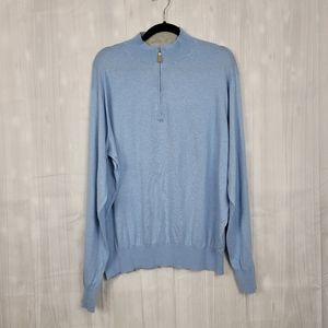 Peter Millar Crown Soft Sweater Blue